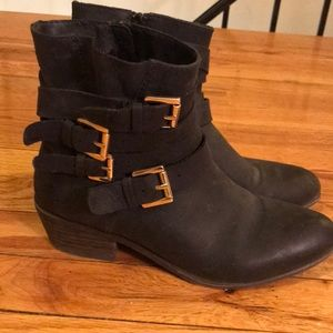Steve Madden Ankle Booties with Buckles